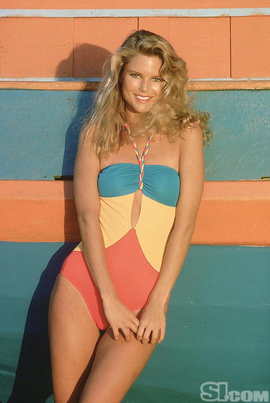 Most famous swimsuit models in the 1970's