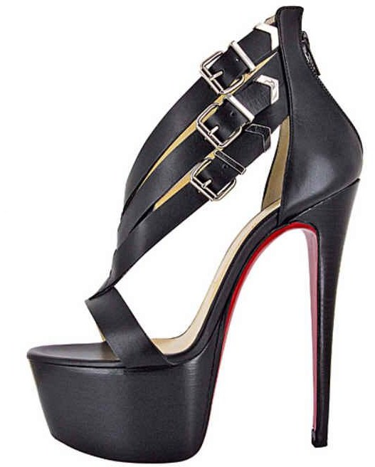 Christian-Louboutin-Charleze-Black-Leather-Strappy-Platform-Sandals-Spring-2013